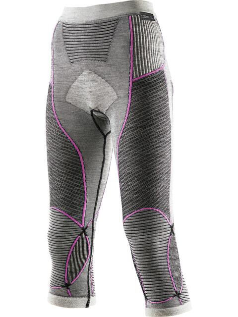 X-Bionic Apani Merino By Fastflow Medium Pants Women Black/Grey/Pink